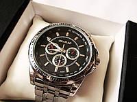 Часы мужские наручные с металлическим браслетом