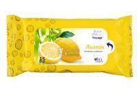 Voyage влажные салфетки для рук Лимон 15 шт (4820091141613)