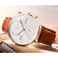 Мужские классические часы Carnival Chronograph White