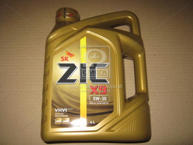 Масло моторное ZIC X9 5W-30 (Канистра 4л) (арт. 162614), ADHZX