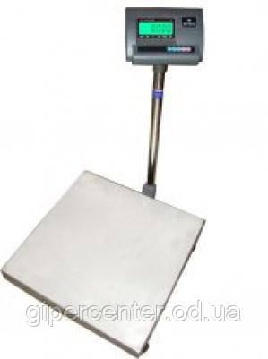 Весы напольные для торговли ВЭСТ-300-А12Е до 300 кг, точность 100 г