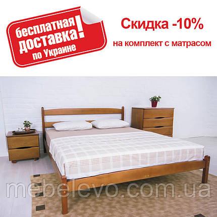 Кровать полуторная Лика без изножья 140 Олимп, фото 2