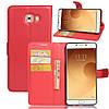Чехол-книжка Bookmark для Samsung Galaxy C9 Pro/C900 red, фото 5