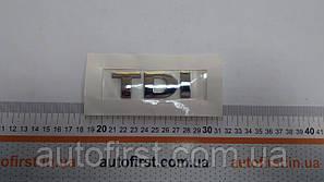 "TURK Значок ""TDI"" задней двери (Хром) Caddy 03- VW T5"
