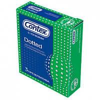 Презервативи CONTEX Dotted, 3 шт