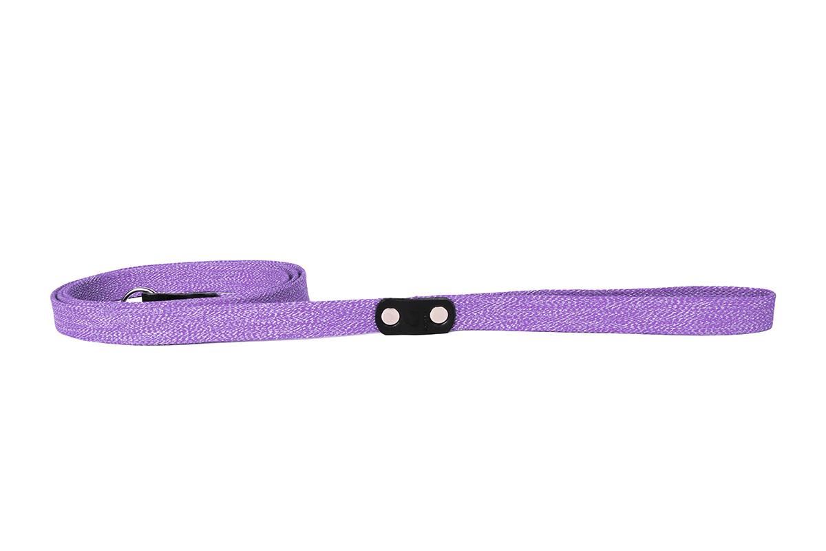 Поводок Collar брезентовый х/б тесьма 200 см 25 мм фиолетовый