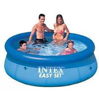 Не дорогой надувной бассейн Easy Set Pool Intex 28110 244 х 76. Хорошее качество. Доступная цена. Код: КГ2817