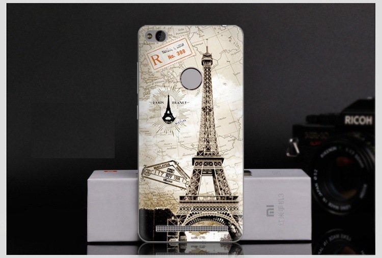 Чехол-накладка TPU Image Eiffel Tower для Xiaomi Redmi 3S (3 Pro)