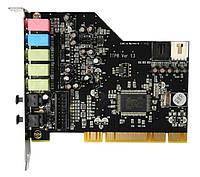 Звуковая карта PCI Terratec Aureon Fun 5.1 каналов  + с ОПТИЧЕСКИМИ ВЫХОДАМИ