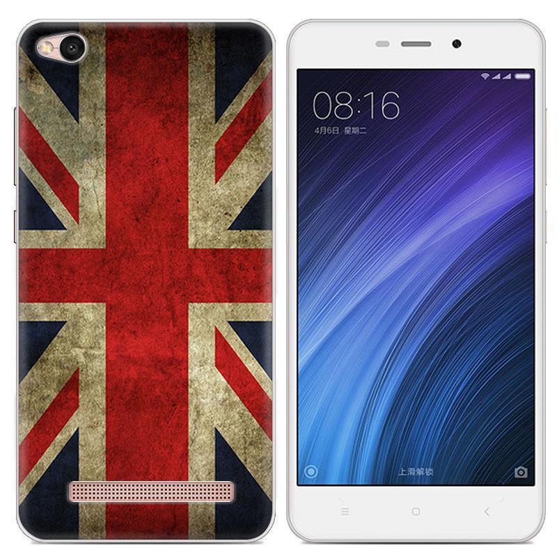Чехол-накладка TPU Image British Flag для Xiaomi Redmi 4A