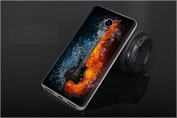 Чехол-накладка TPU Image Guitar для Xiaomi Redmi Note 4X