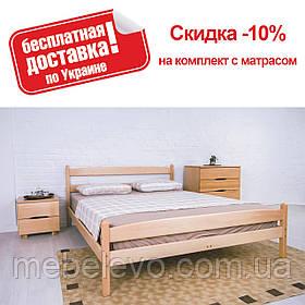 Кровать двуспальная Лика с изножьем  200  Олимп