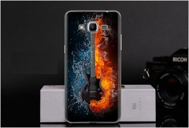 Чехол-накладка TPU Image Guitar для Samsung Galaxy J2 Prime/G532