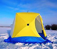 Зимняя палатка для рыбалки Стэк Куб 2 местная 185х185 см, фото 1
