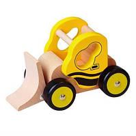 Деревянная игрушечная машинка Viga Toys Бульдозер (59672VG)