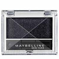 Тени для век Maybelline EyeStudio Mono 840 - Cosmic black (космический черный)