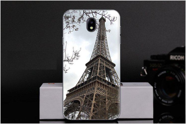 Чехол-накладка TPU Image Paris для Samsung Galaxy J7 2017/J730