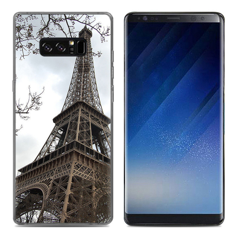 Чехол-накладка TPU Image Paris для Samsung Galaxy Note 8/N950
