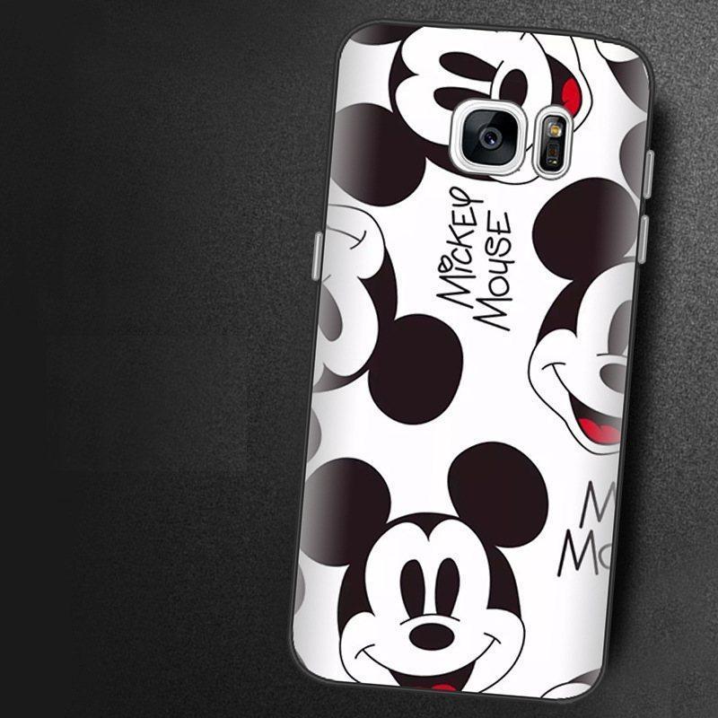 Чохол-накладка TPU Image Mickey Mouse для Samsung Galaxy S7 Edge/G935