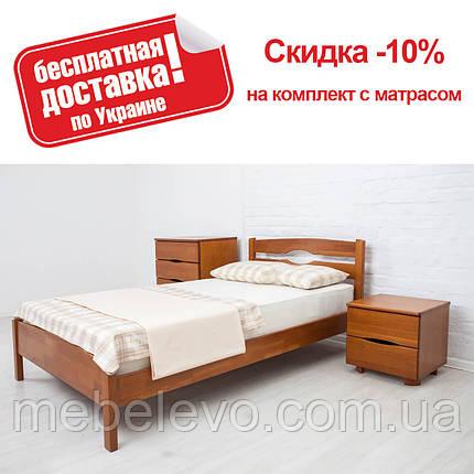 Кровать односпальная Лика Люкс 80 Олимп, фото 2
