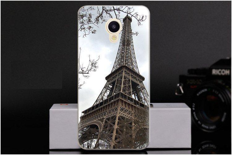 Чехол-накладка TPU Image Paris для Meizu M5c (A5)