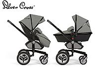 Универсальная коляска 2в1 Silver Cross Surf 3 Special Edition Eton Grey