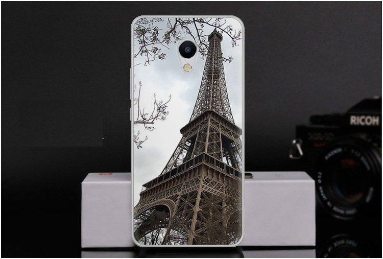 Чохол-накладка TPU Image Paris для Meizu M5s