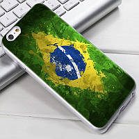 Чехол-накладка TPU Image Brazil для iPhone 5/5S/5SE