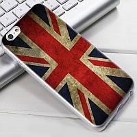 Чехол-накладка TPU Image British flag для iPhone 5/5S/5SE
