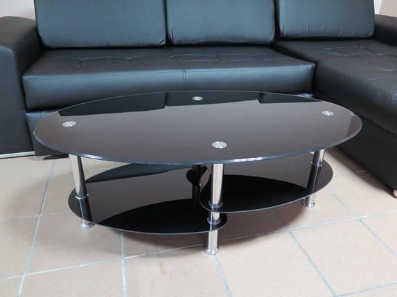 Журнальный, кофейный столик Black CARLY , фото 2
