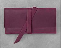 Кожаный тревел-кейс 1.0 Виноград. Ручная работа, фото 1