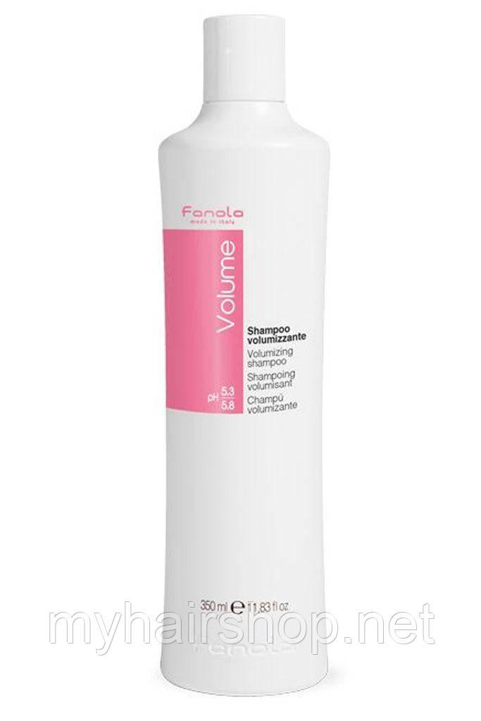 Шампунь для объёма волос FANOLA Volume Volumizing Shampoo 350 мл