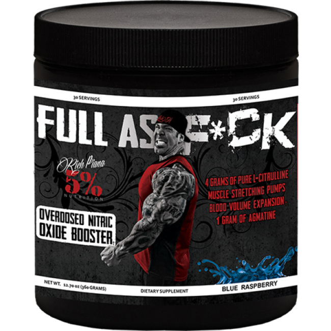 RichPiana 5% Nutrition Full Ass F*ck 360 g