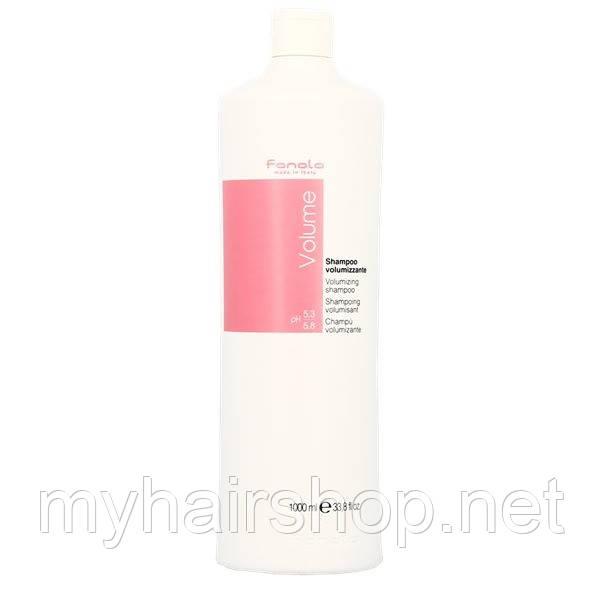 Шампунь для объёма волос FANOLA Volume Volumizing Shampoo 1000 мл