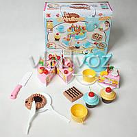 Детский набор кондитера продукты тортик для детей