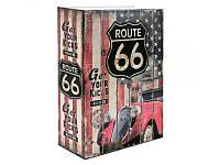 Книга-сейф (18см) Траса 66, фото 1