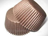 Форма для маффинов коричневые большие(код 01115)