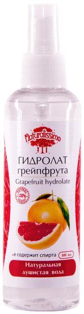 Гидролат Грейпфрута, натуральный био тоник, 100 мл