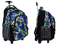 Рюкзак школьный на колесах PASO 85-997D