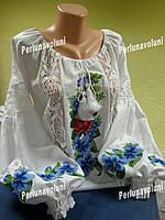 Блуза женская с вышивкой БЖ 9879, вышиванка, вышитая блузка, вишита блузка, вишиванка,нарядна блузка