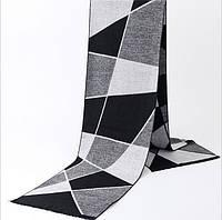 Темный мужской шарф