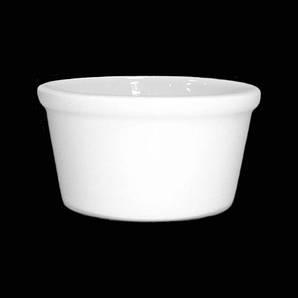 Соусник пиалка 50 мл. фарфоровый белый Farn