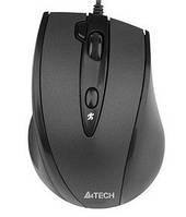 Мышь A4Tech N-770FX-1 Black, V-TRACK, USB, 1600 dpi