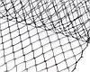 Сетка вуальная черная 24х50см