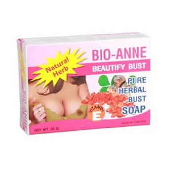 Травяное мыло Bio-Anne для увеличения и укрепления груди 50 г