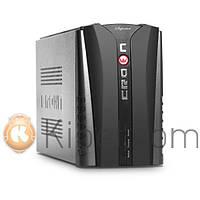 ИБП Crown CMU-500 Euro Black, 500 ВА/300 Вт, линейно-интерактивный, батарея 12В-4,5Ач, розетки 1 x Euro (Schuko) 1 x IEC-320