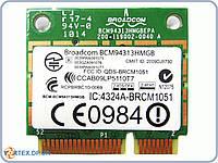 Сетевая карта Wifi модуль для ноутбука HalfSize Broadcom bcm94313hmgb , BRCM1051