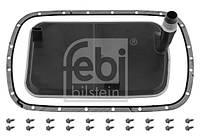 Фильтр масляный АКПП BMW X5 (E53) 00-06 с прокладкой (производство FEBI), AEHZX