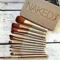 Набор кистей для макияжа NAKED 3  [реплика]