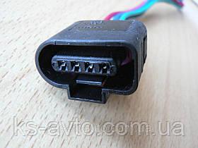 Фишка (разъем проводки) датчика абсолютного давления с 4-мя контактами и проводами Сенс